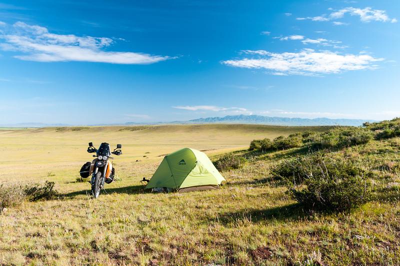 Bushcamping in Kazakhstan