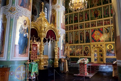 Church in the Kazan Kremlin.