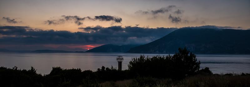 Sunrise over Ithaca