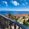 Views towards Lefkarda from breakfast balcony