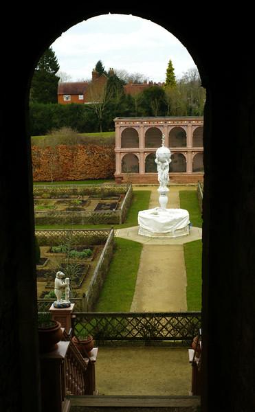The Queen's Privy Garden.