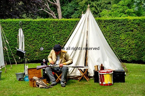 Regency weekend at Walmer Castle Kent 28 June 2015