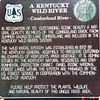 A Kentucky Wild River Signage for Cumberland River
