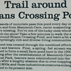 Signage for Trail Around Sloans Crossing Pond - Mammoth Cave National Park, Kentucky - May 1995