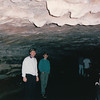 """Randal and Ben in Mammoth Cave - Historic Tour - Mammoth Cave National Park, Kentucky - May 1995<br /> Mammoth Cave National Park preserves the cave system and a part of the Green River valley and hilly country of south central Kentucky. This is the world's longest known cave system, with more than 390 miles explored. Early guide Stephen Bishop called the cave a """"grand, gloomy and peculiar place,"""" but its vast chambers and complex labyrinths have earned its name - Mammoth."""