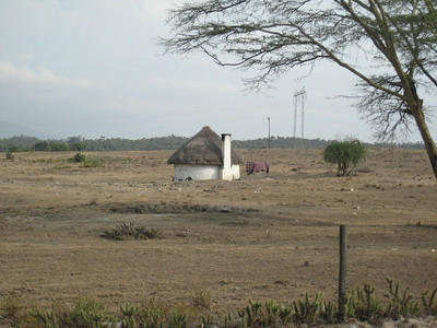 Kenyan countryside.