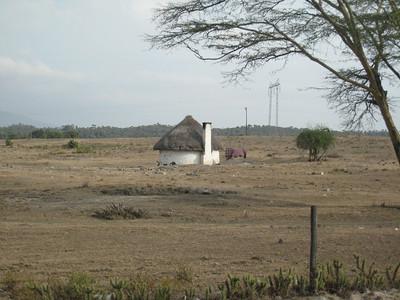 Kenyan countryside.