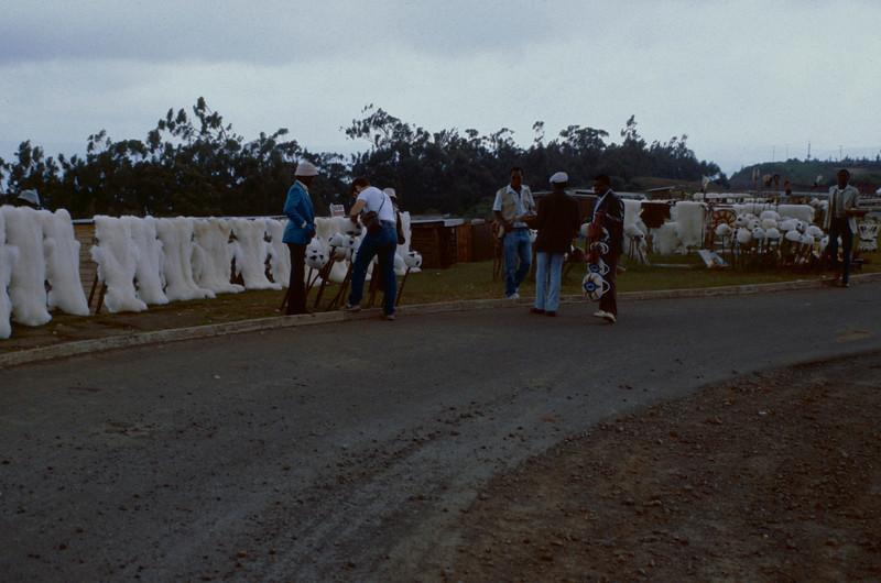 Rift Valley, road side market, Kenya