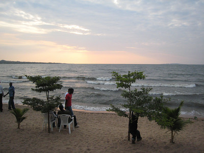 Late afternoon at Lake Victoria.