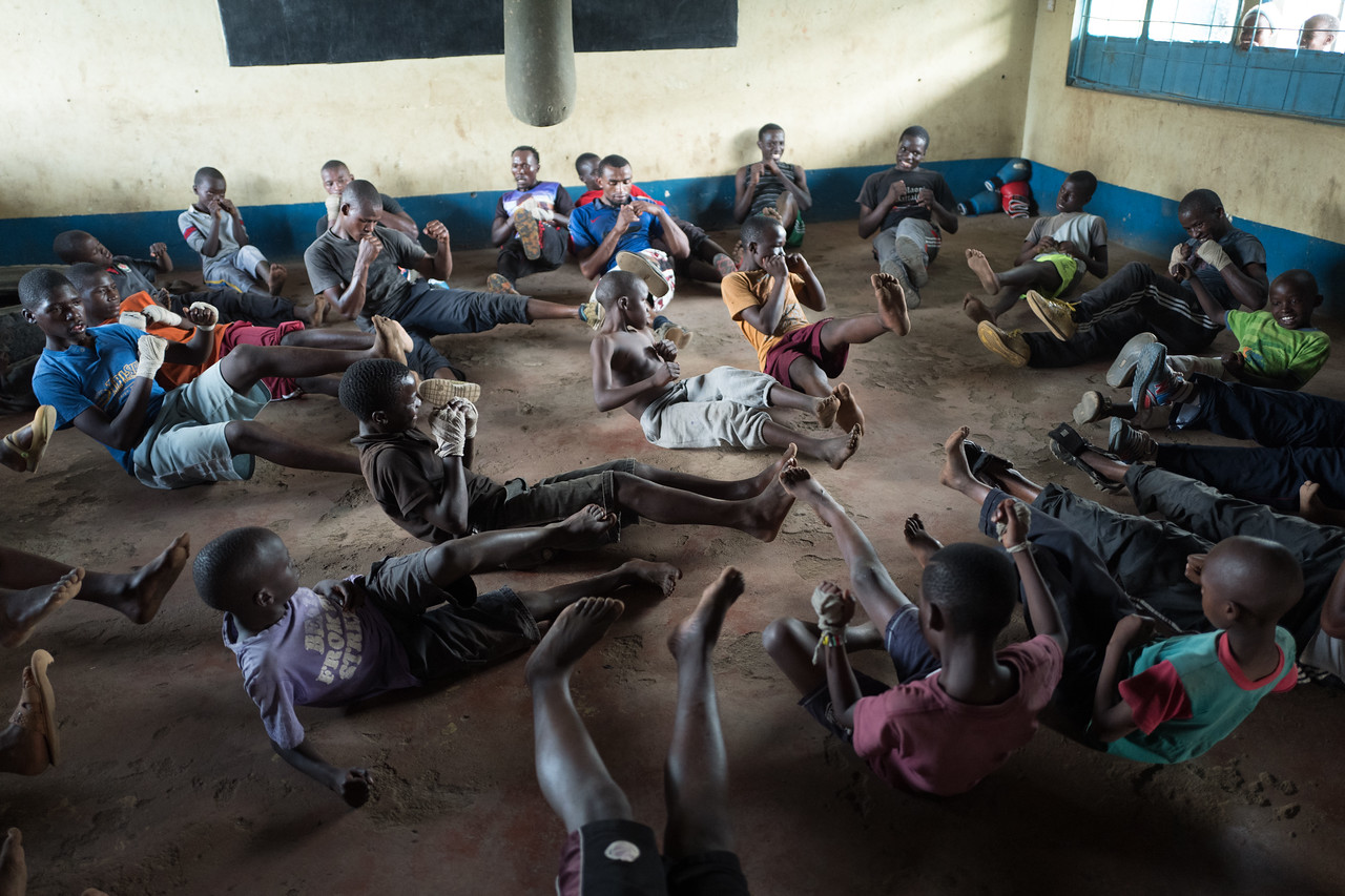 Boxing club - Nairobi, Kenya