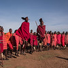 Masai Dance - the jump - Masai Mara, Kenya