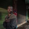 Morning at a Nairobi Street