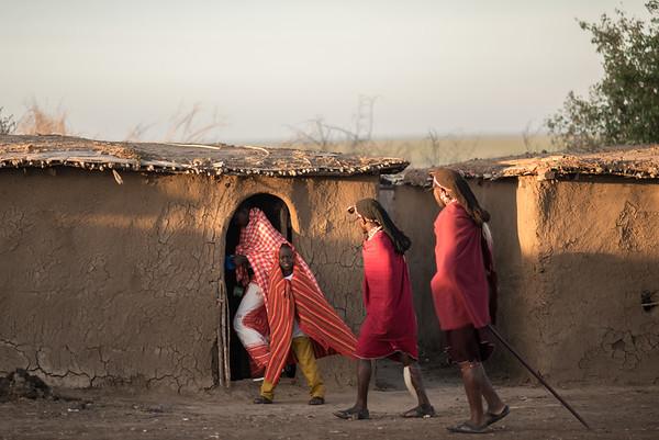 Masa village - Masai-Mara, Kenya
