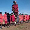Masai Dance - the Jump - Masai-Mara, Kenya