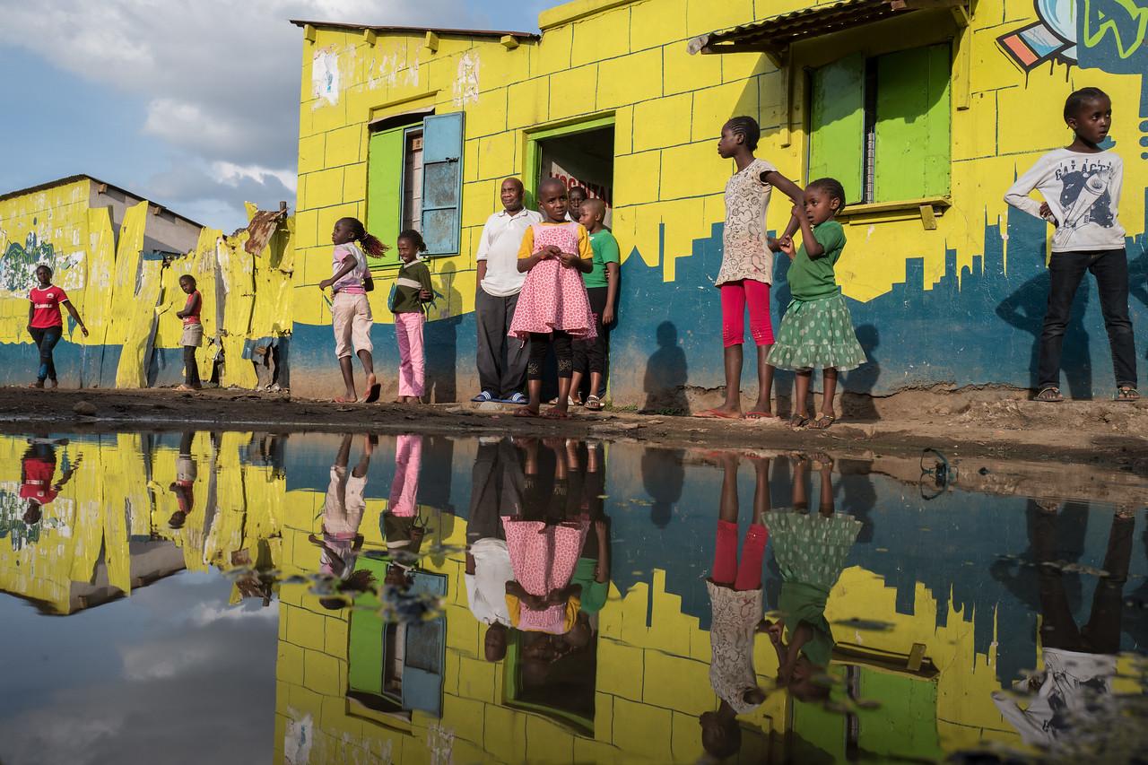 Yellow reflection - Nairobi Kenya