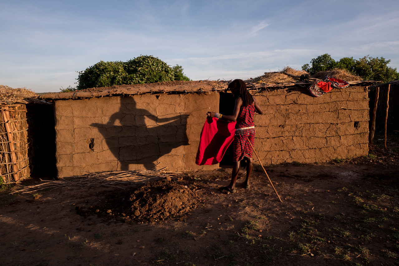 Shadows - Masai-Mara, Kenya