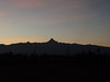 Sunrise and Mt. Kenya.