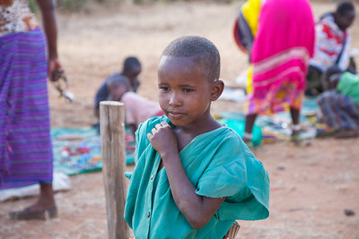 Maasai Girl babies