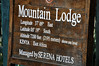 Mountain Lodge at Mt. Kenya.  Our first destination in Kenya.  We spent two nights there.