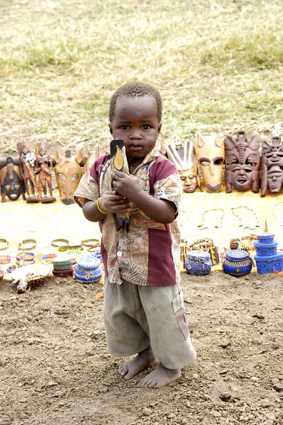 Masai Salesman, Kenya