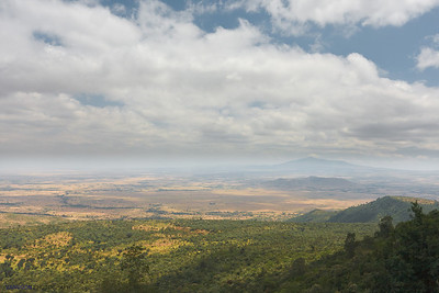 A panoramic view of the Rift Valley