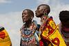 Maasai women singing