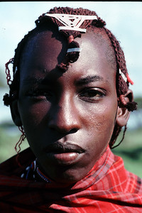 Maasai people in Kenya