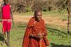 A Maasai warrior