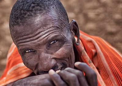 Masai Medicine Man in Amboseli