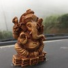 Another car, another dashboard Ganesha.