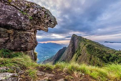 The tiger Rock- Kolukkumalai
