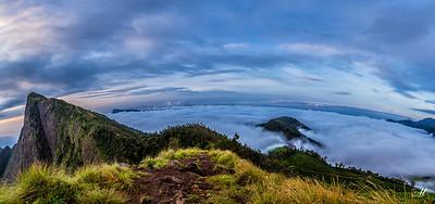 Ocean Of Clouds panorama