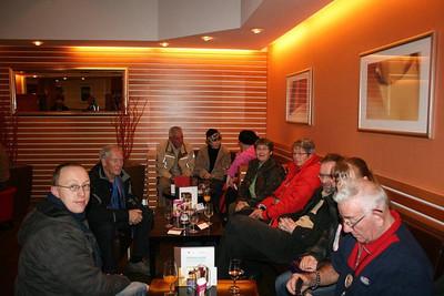 Aankomst in Mövenpick Hotel Egerkingen