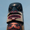 Totem pole in Ketchikan, Alaska.