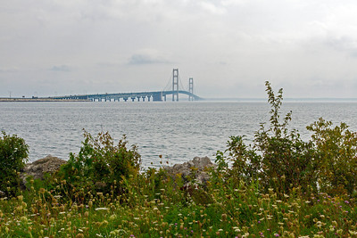 Mackinac Bridge to Michigan's U. P.
