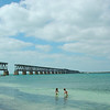 Bahia Honda old bridge in the background