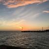Sunset from the Casa Marina