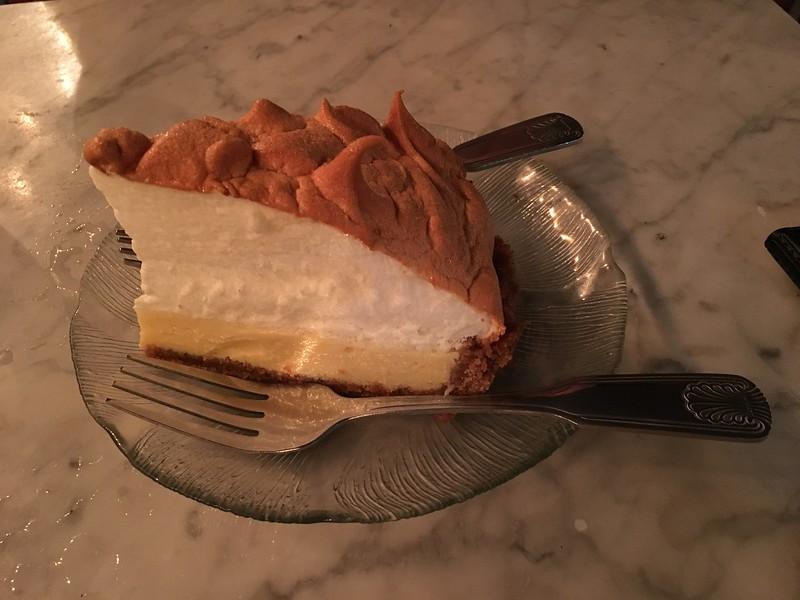 Key lime pie. Yum!