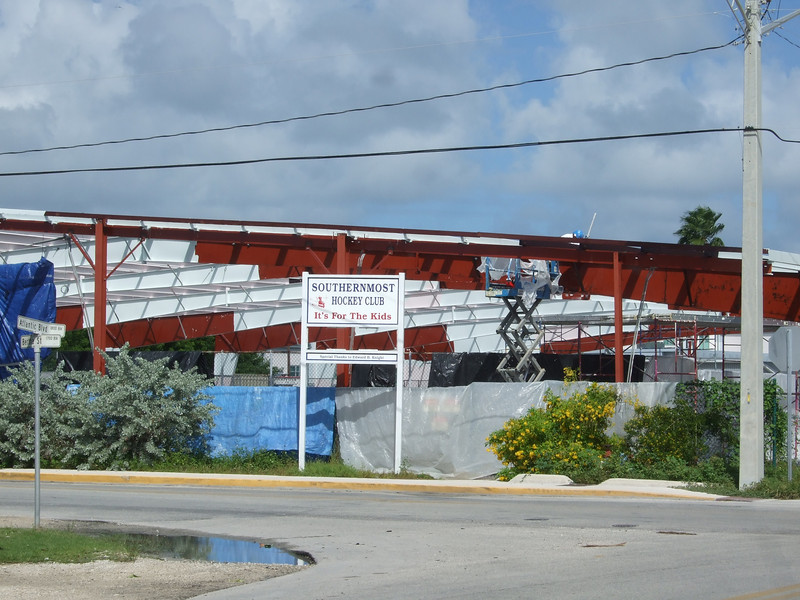 Yikes! Even the southernmost _hockey_ rink!