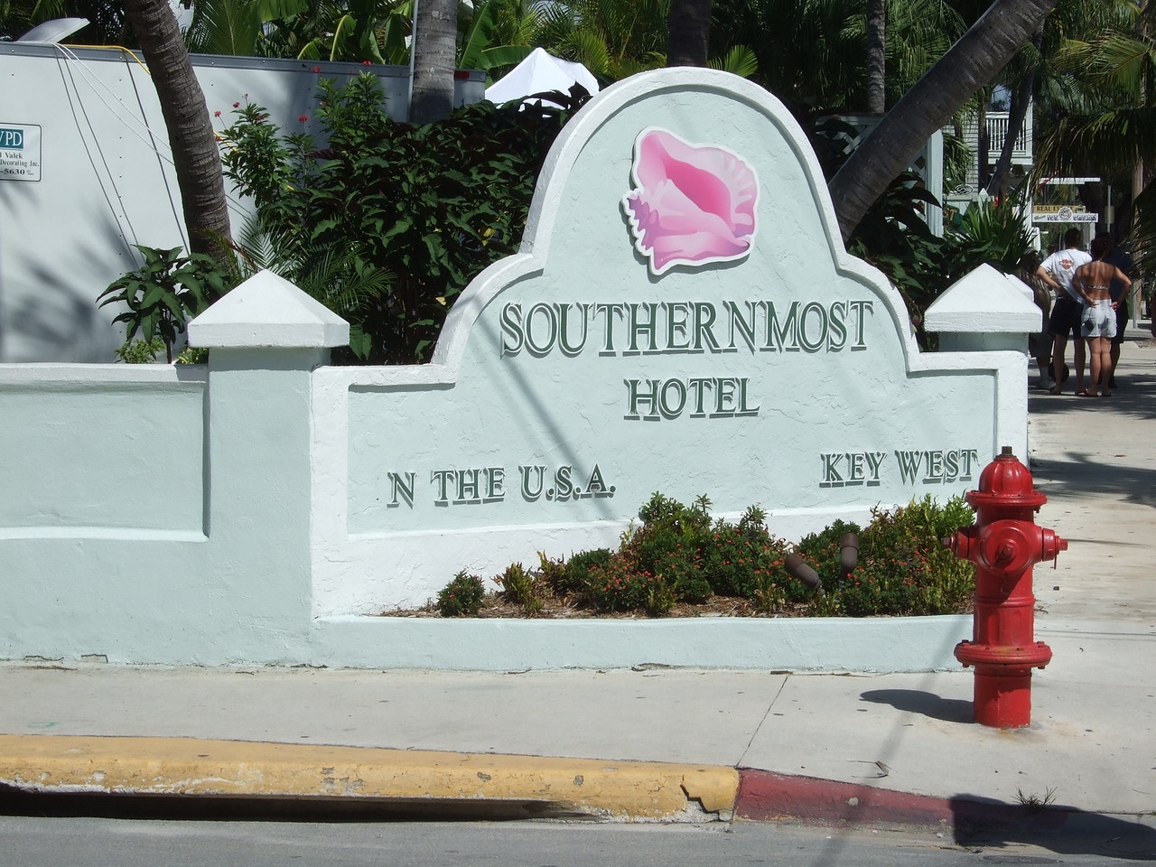 The hotel that is southernmost.