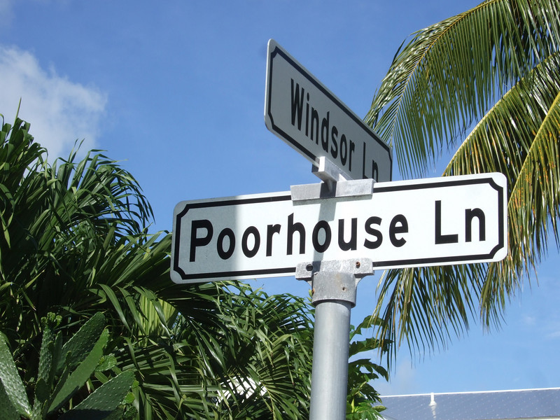Where you end up if you live in Key West.