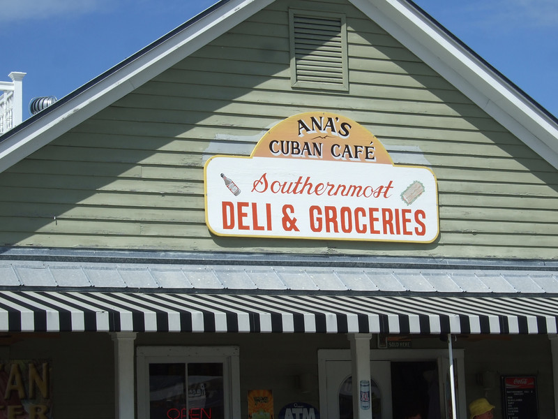 The southernmost deli is a block north of those other southernmost places.