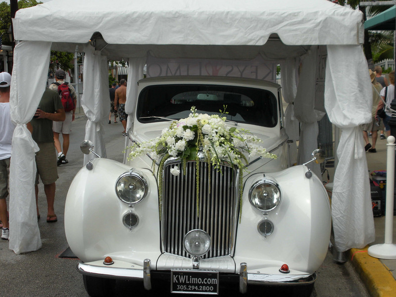 If you get married in Key West, you may hire this limo for your ride to and from the ceremony.