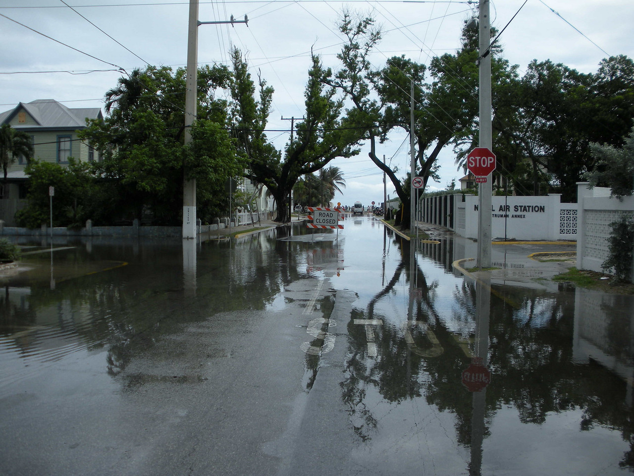 This was the rainiest season in Key West's recorded history.
