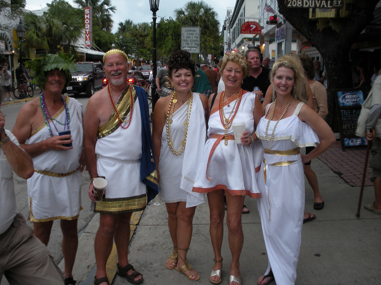 Okay, so there's a toga party, and it's hard to find pirate-themed togas.