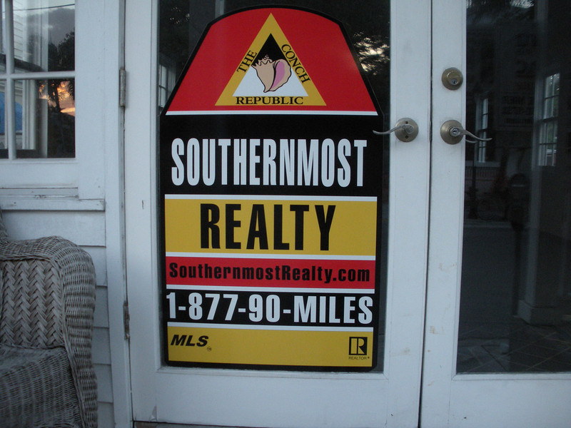The southernmost real estate agency.