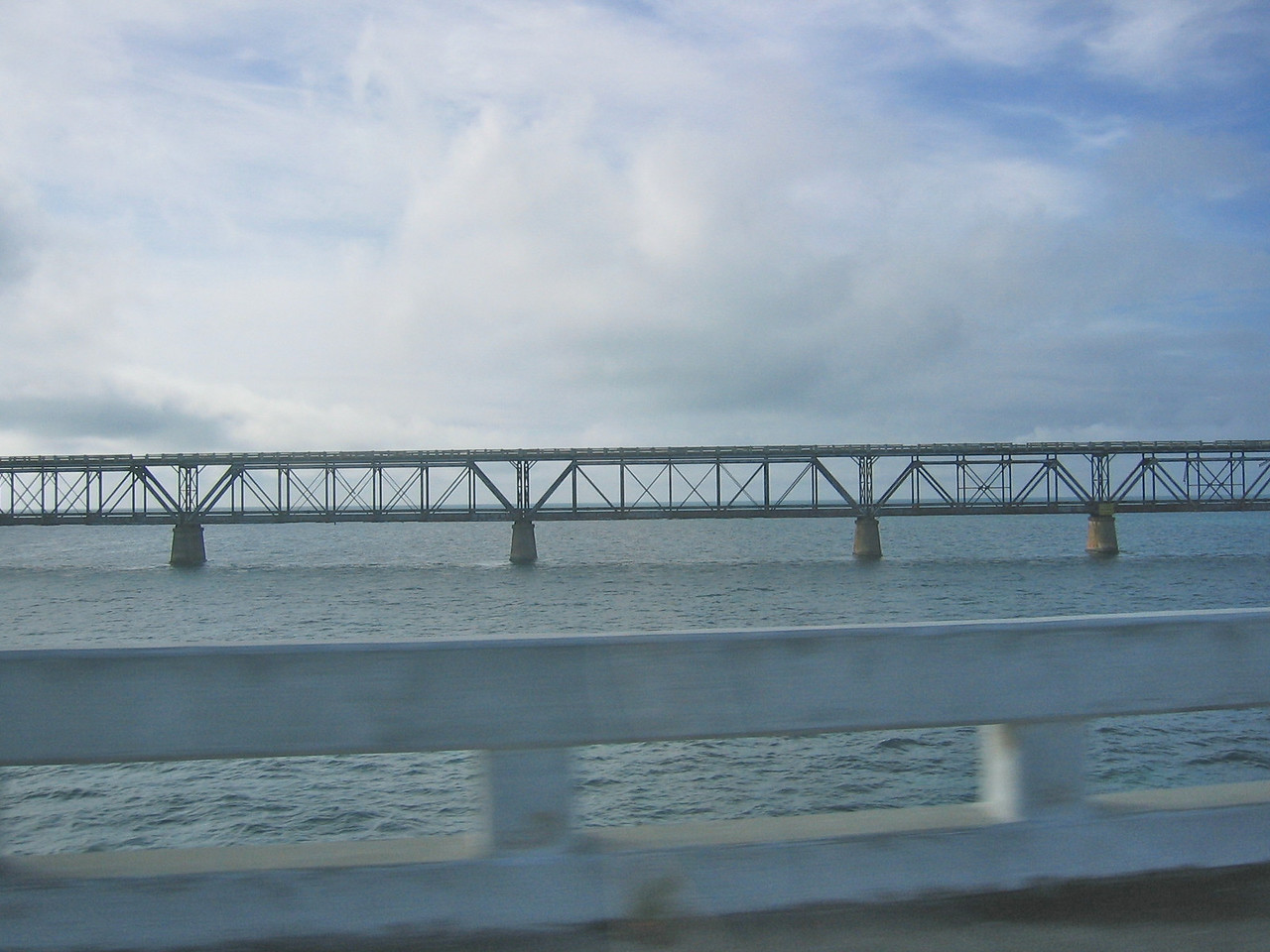 Part of the original railroad down to the keys from the mainland.