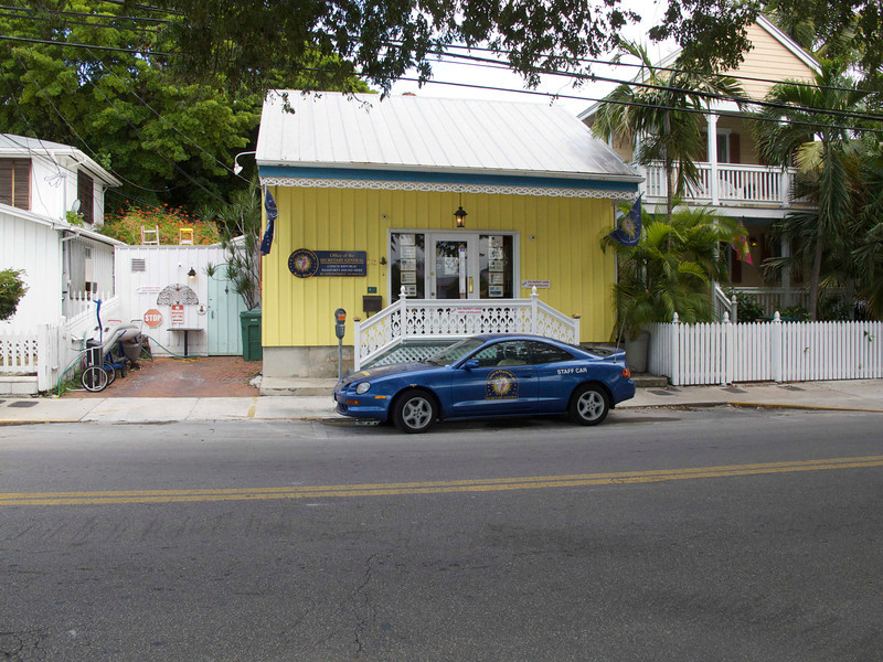 "The <a href=""http://www.conchrepublic.com"">Conch Republic</a>. Unfortunately, they were never open when we were there."