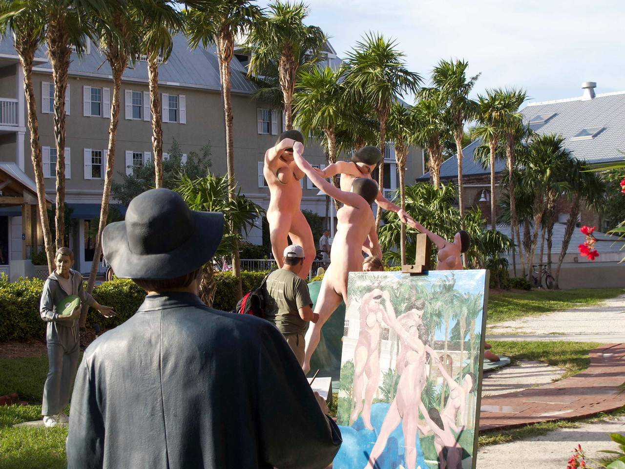 From Key West's museum. I really like their sculpture garden.