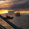 A sunset sail